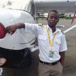 Bosco Temu, 24 ans, pilote, fondateur et CEO d'une compagnie d'aviation